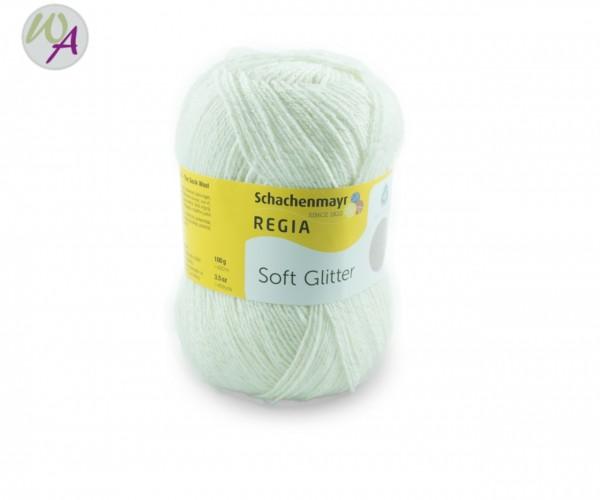 Regia Soft Glitter Farbe 0002 snow white