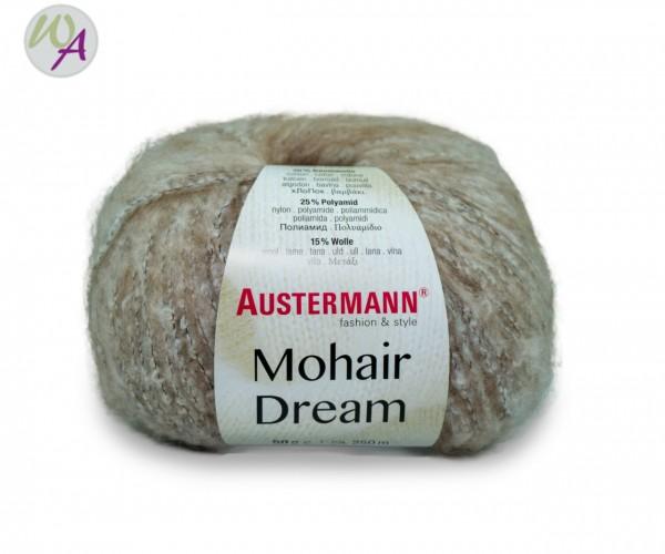 Mohair Dream Austermann 0001 beige