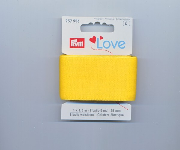 Prym Love Elastic-Bund 957906 gelb