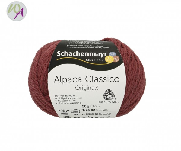 Schachenmayr Alpaca Classico Farbe 0041 winter mauve
