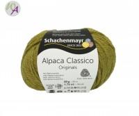 Schachenmayr Alpaca Classico Farbe 0070 apfelgrün