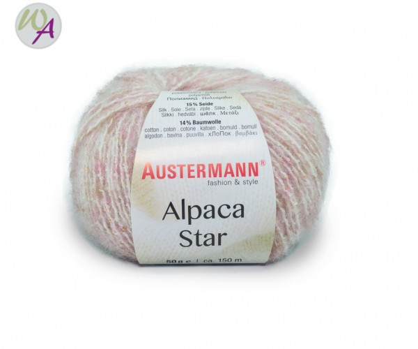 Austermann Alpaca Star Farbe 0003 rosé