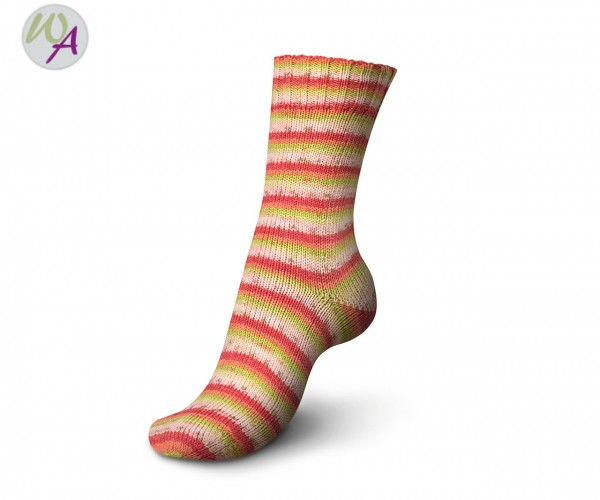 Regia Tutti Frutti 2 Cotton Color Socke 2426 apple color