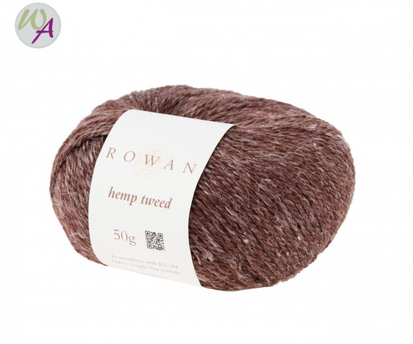 Hemp Tweed Rowan Farbe 0134 treacle