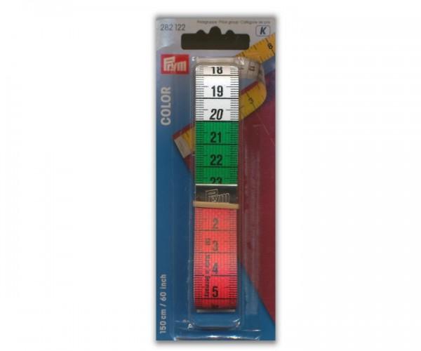 Maßband Color 150 cm und 60 inch Prym