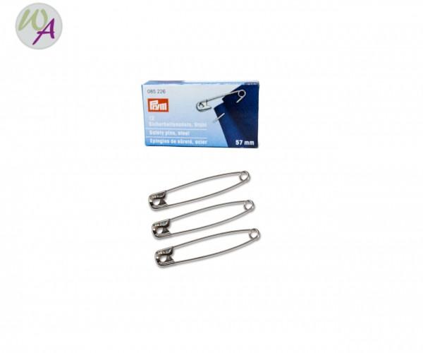 Sicherheitsnadel Stahl 085226 57 mm