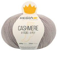 Regia Strumpfwolle Premium Cashmere in der Farbe 0096 grey