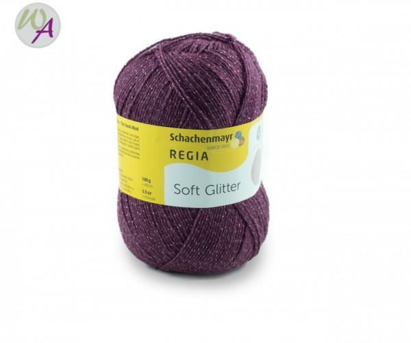 Regia Soft Glitter Farbe 0045 burgund