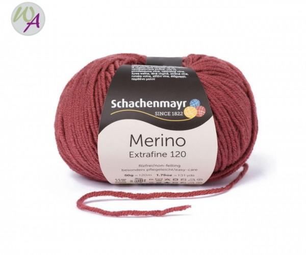 Merino Extrafine 120 Farbe 128 marsala