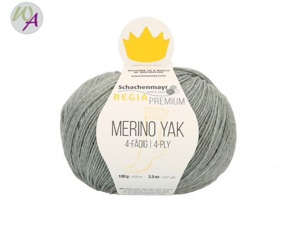 Regia Merino Yak Farbe 7513 mint meliert