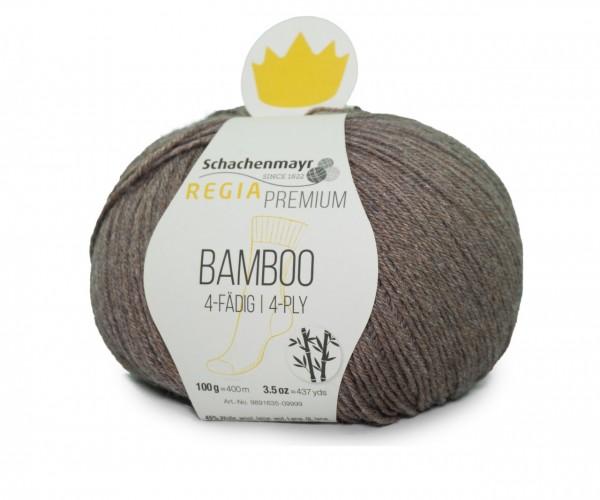 100g Regia Premium Sockenwolle Bamboo 0023 Taupe Strumpfwolle