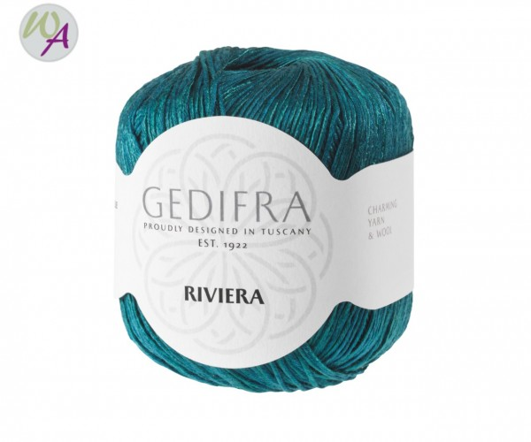 Gedifra Riviera - Farbe 1357 - petrol