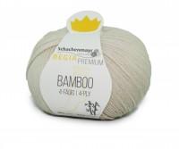 Regia Bamboo 0002 Natur 100g Sockenwolle Strumpfgarn