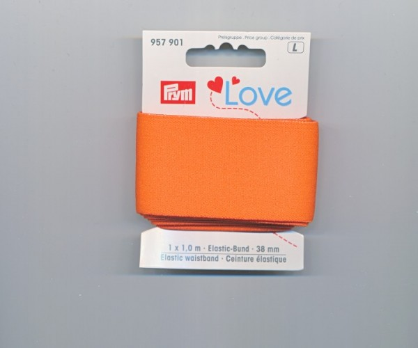 Prym Love Elastic-Bund 957901 orange