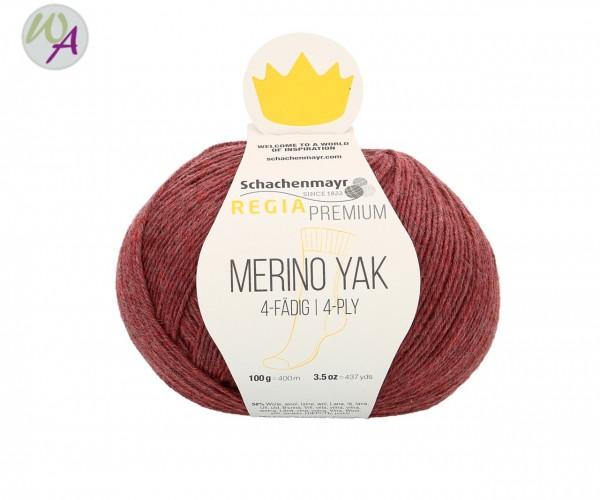 Regia Merino Yak Farbe 7508 pflaume meliert