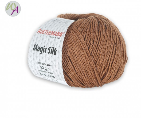 Austermann Magic Silk Farbe 0002 mandel