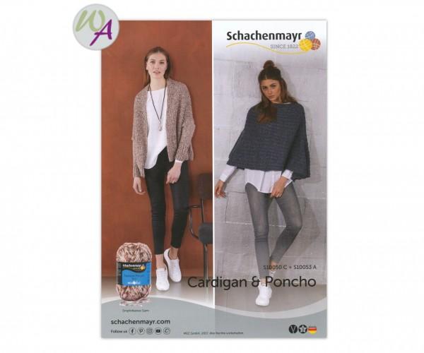 Schachenmayr Cardigan + Poncho Strickanleitung