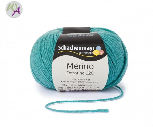 Merino Extrafine 120 Farbe 176 meergrün