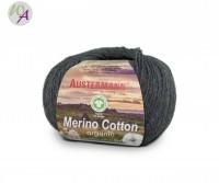 Austermann® Merino Cotton organic Farbe 18 dunkelgrau