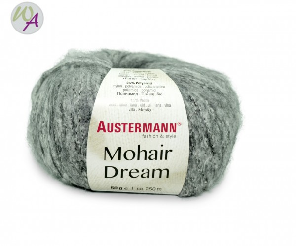 Austermann Mohair Dream 0011 nebel