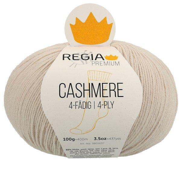 Regia Premium 100g Cashmere 0020 sandshell Strumpfwolle