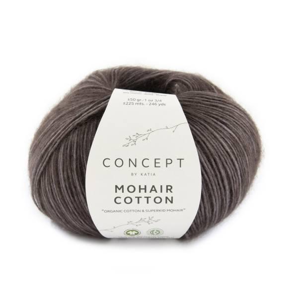 Mohair Cotton Katja Concept Wolle 80 Aubergine