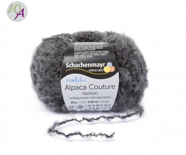 Schachenmayr Alpaca Couture Farbe 0098 anthrazit