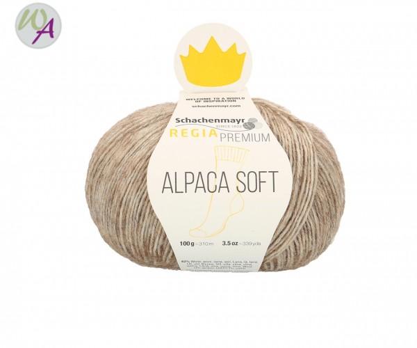 Regia Alpaca Soft Farbe 0020 camel meliert