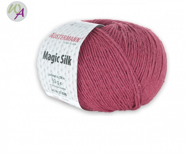 Austermann Magic Silk Farbe 0003 kirsche