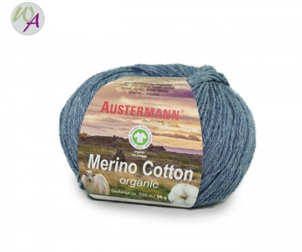 Austermann® Merino Cotton organic Farbe 15 jeans