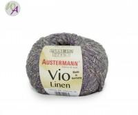 Vio Linen Austermann® Wolle 0006 lavendel