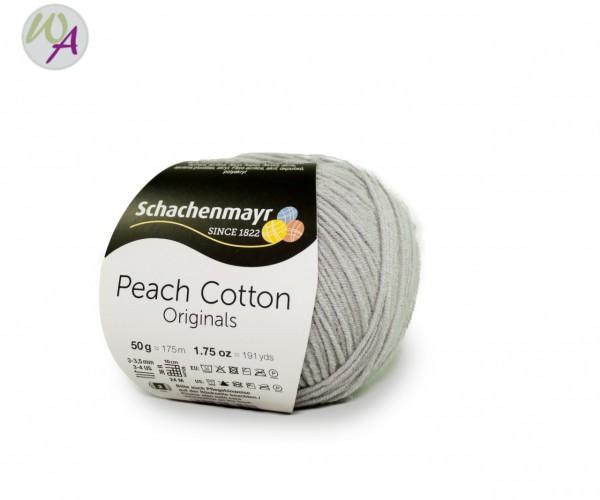 Schachenmayr Peach Cotton Farbe 190 silber