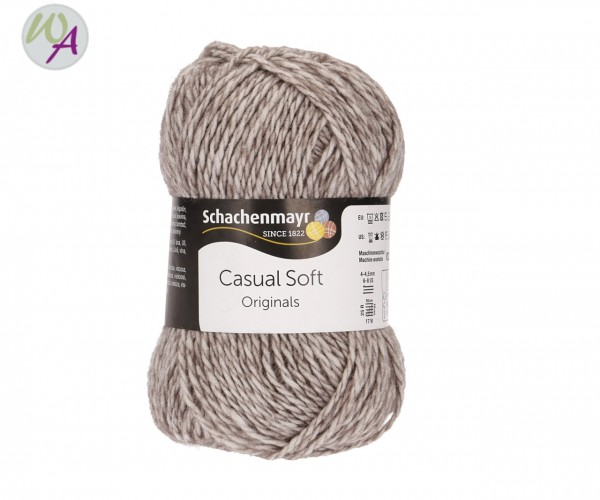 Schachenmayr Casual Soft Farbe 0098 anthrazit