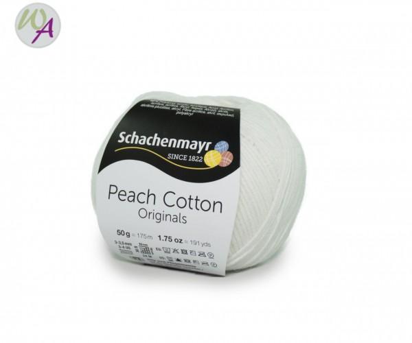 Schachenmayr Peach Cotton Farbe 101 weiss