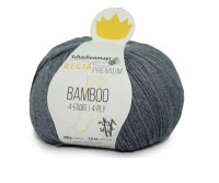 Strumpfwolle Regia Bamboo Premium Sockengarn Farbe 0093 Grey 100g