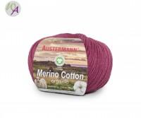Austermann® Merino Cotton organic Farbe 07 fuchsie
