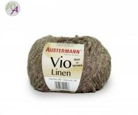 Vio Linen Austermann® Wolle 0003 nuss
