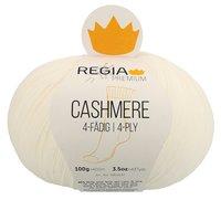 Premium Cashmere Regia Sockenwolle white 0001