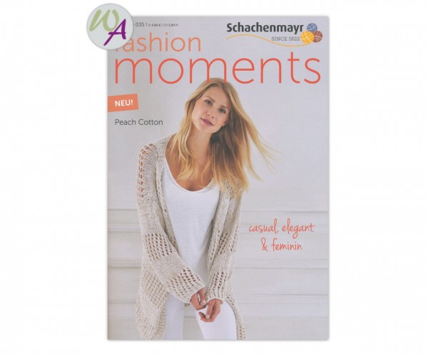 Schachenmayr Magazin 035 Fashion Moments Peach Cotton