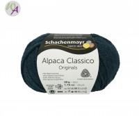 Schachenmayr Alpaca Classico Farbe 0069 teal
