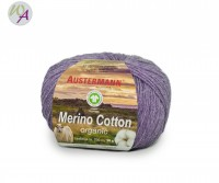 Austermann® Merino Cotton organic Farbe 16 lila