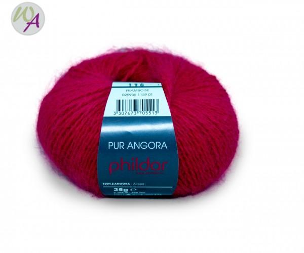 Pur Angora Phildar Wolle 1149 Framboise