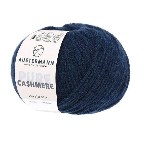 Austermann® Wolle 100% Cashmere Pure 04 marine