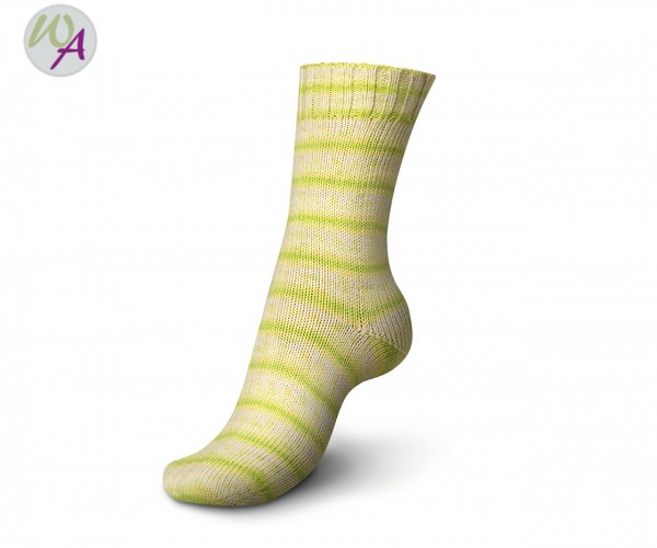 Regia Tutti Frutti 2 Cotton Color Socke 2424 lemon color