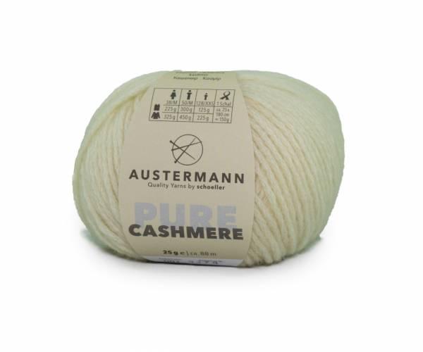 Austermann® Cashmere Pure 01 natur