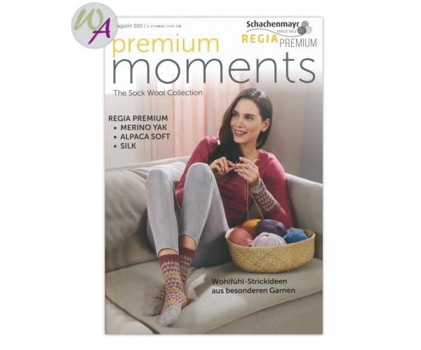 Premium Moments 002 Schachenmayr Regia Strickanleitung