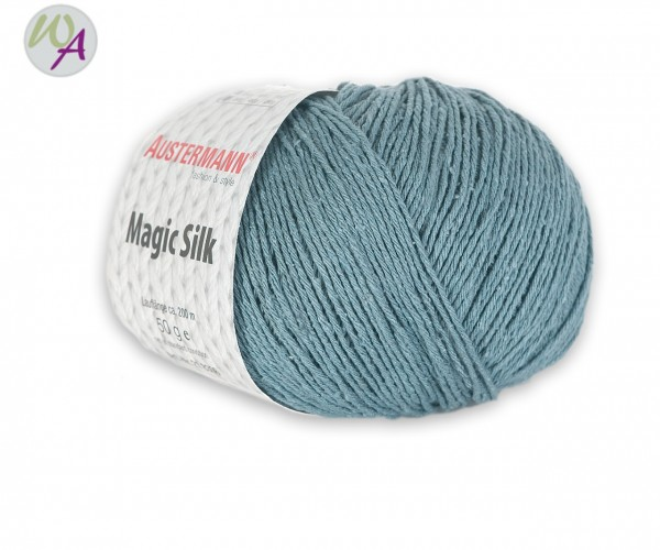 Austermann Magic Silk Farbe 0008 fjord