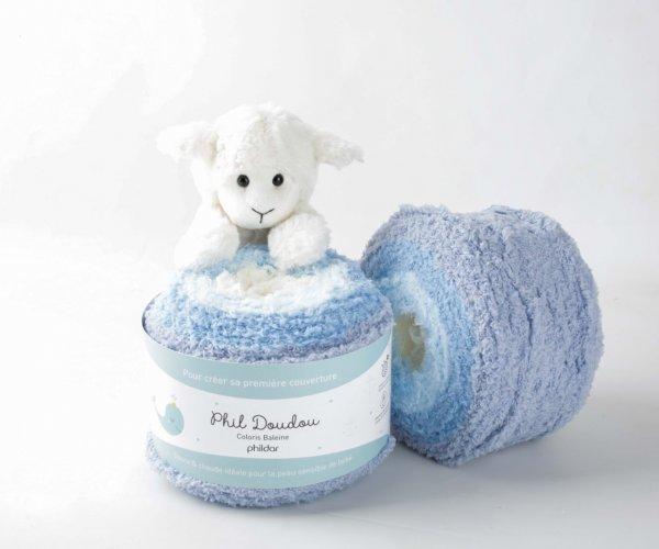 Phil Doudou Phildar Wolle 2089 - Baleine