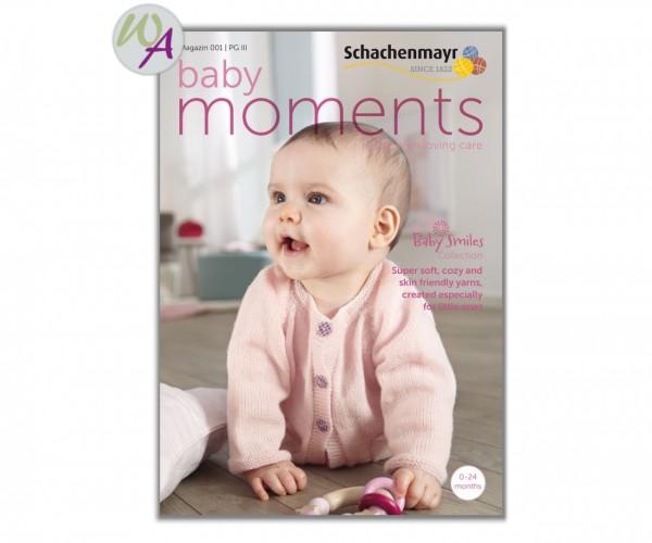 Baby Moments 001 Schachenmayr Strickanleitung