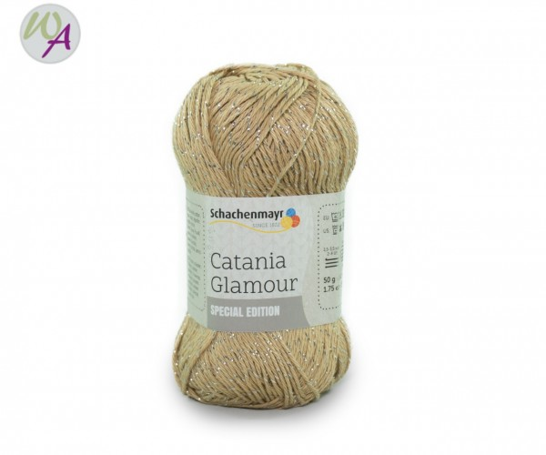 Schachenmayr Catania Glamour Farbe 0105 sand